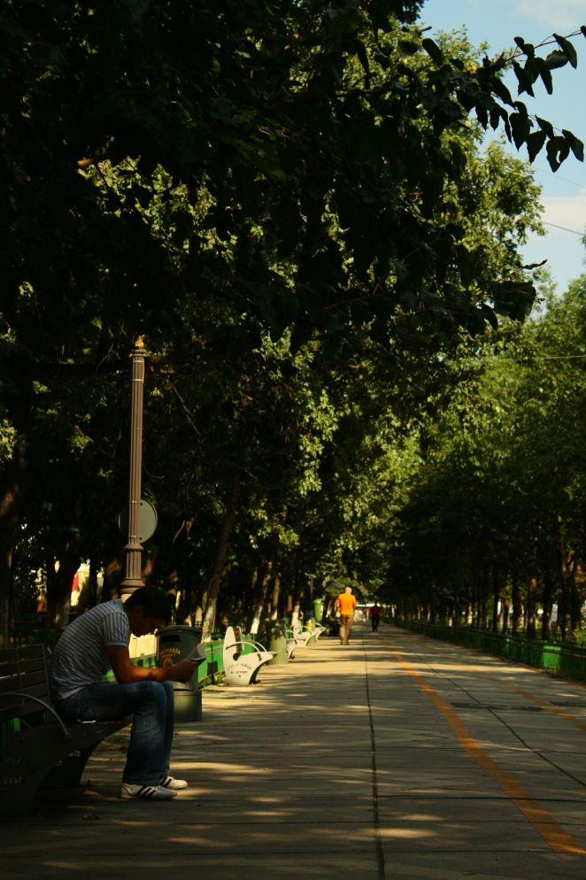 Bulevardul Unirii, Bucharest, Romania, 2009