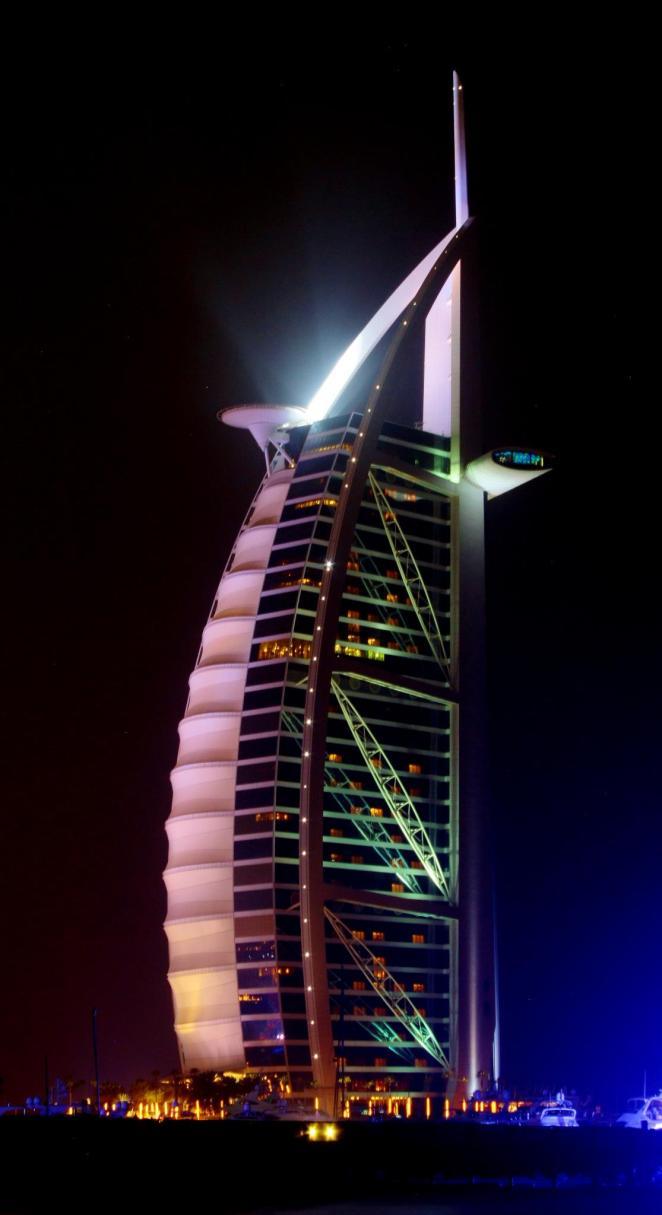 Burj Al Arab, Dubai, 2012